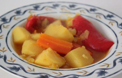 תבשיל ירקות צמחוני